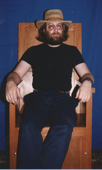 Photo of Jay in chair